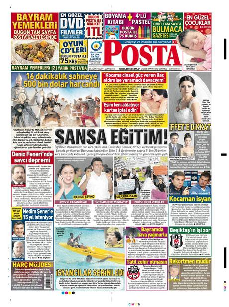 Günün önemli gazete manşetleri (27.08.11) galerisi resim 12