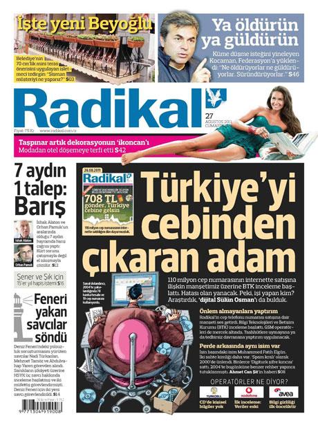 Günün önemli gazete manşetleri (27.08.11) galerisi resim 13