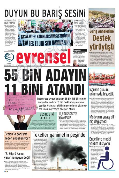 Günün önemli gazete manşetleri (27.08.11) galerisi resim 24