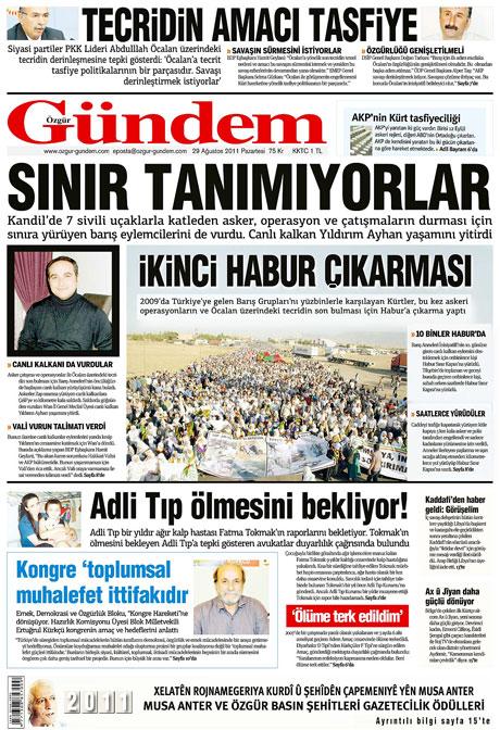 Günün önemli gazete manşetleri (29.08.11) galerisi resim 10