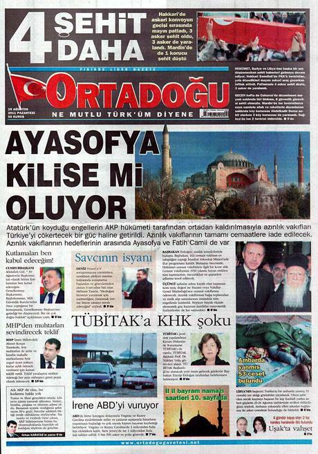 Günün önemli gazete manşetleri (29.08.11) galerisi resim 11