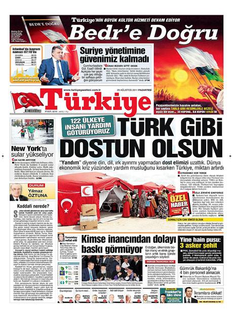 Günün önemli gazete manşetleri (29.08.11) galerisi resim 18