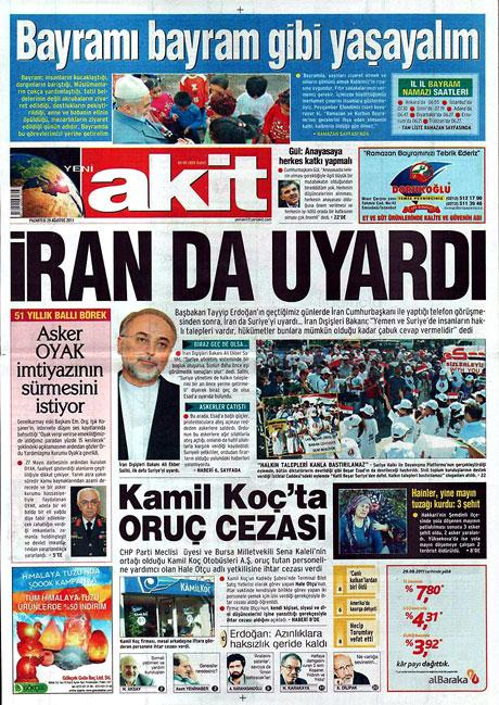 Günün önemli gazete manşetleri (29.08.11) galerisi resim 20