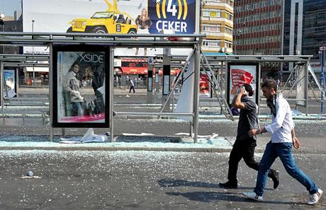 Barış gününe Polisten gazlı müdahale! galerisi resim 26