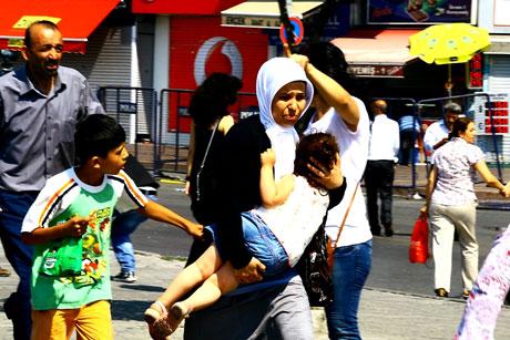 Barış gününe Polisten gazlı müdahale! galerisi resim 27