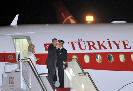 Erdoğan'ı binlerce kişi karşıladı galerisi resim 20