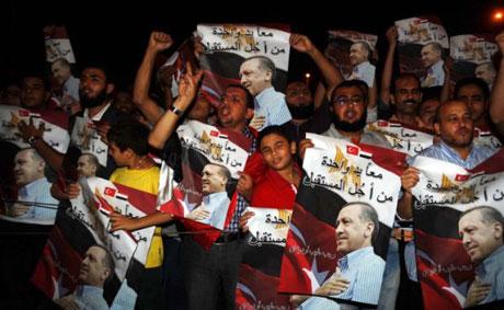 Erdoğan'ı binlerce kişi karşıladı galerisi resim 4