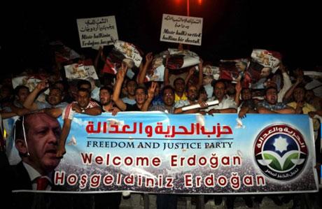 Erdoğan'ı binlerce kişi karşıladı galerisi resim 6