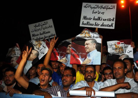 Erdoğan'ı binlerce kişi karşıladı galerisi resim 9