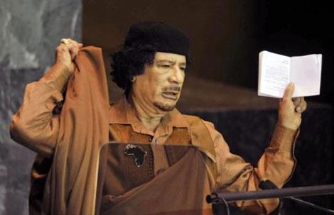Kaddafi'den Kitapçık Şov galerisi resim 10