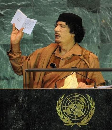 Kaddafi'den Kitapçık Şov galerisi resim 3