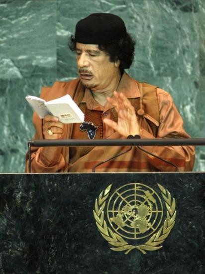 Kaddafi'den Kitapçık Şov galerisi resim 5