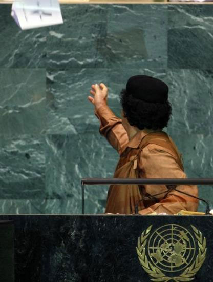 Kaddafi'den Kitapçık Şov galerisi resim 7
