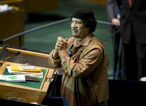 Kaddafi'den Kitapçık Şov galerisi resim 9