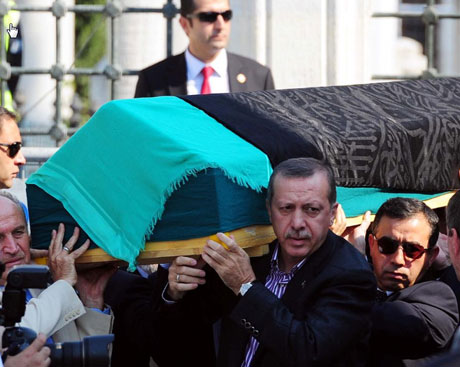 Anne Erdoğan'a son veda... galerisi resim 6