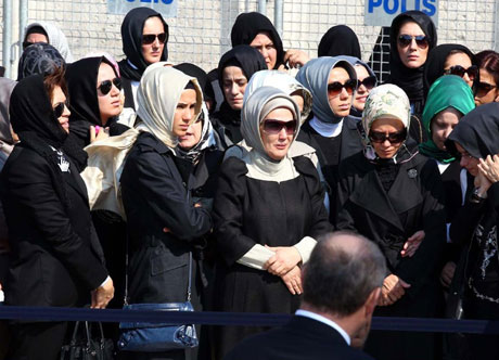 Anne Erdoğan'a son veda... galerisi resim 8