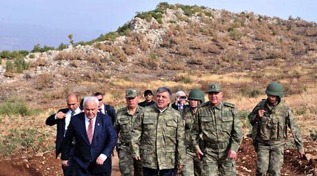 Cumhurbaşkanı Gül kamuflaj giydi galerisi resim 1