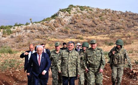 Cumhurbaşkanı Gül kamuflaj giydi galerisi resim 25