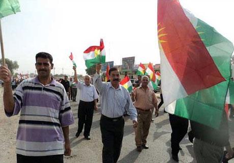 Kürdistan bayrağı için binler sokakta galerisi resim 1