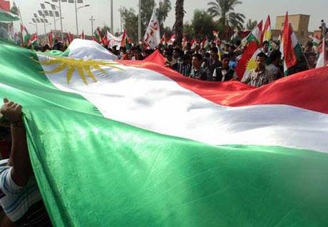 Kürdistan bayrağı için binler sokakta galerisi resim 10