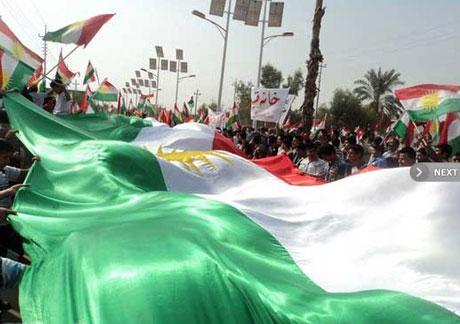 Kürdistan bayrağı için binler sokakta galerisi resim 11