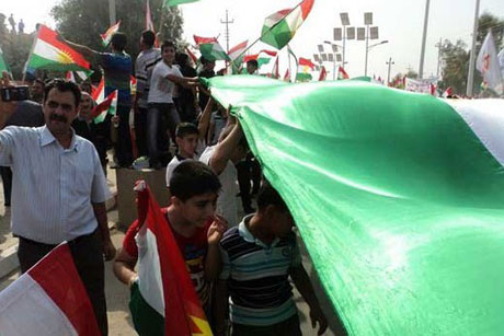Kürdistan bayrağı için binler sokakta galerisi resim 12