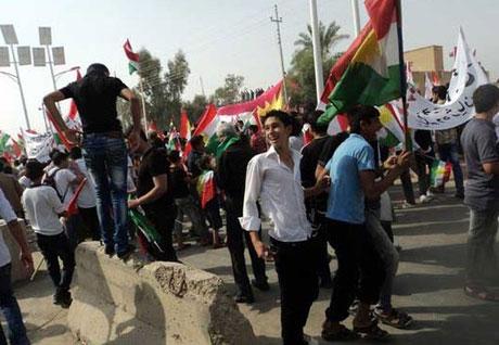 Kürdistan bayrağı için binler sokakta galerisi resim 13