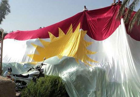 Kürdistan bayrağı için binler sokakta galerisi resim 14