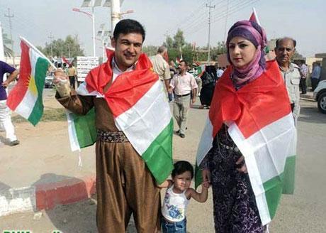 Kürdistan bayrağı için binler sokakta galerisi resim 17