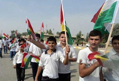 Kürdistan bayrağı için binler sokakta galerisi resim 19