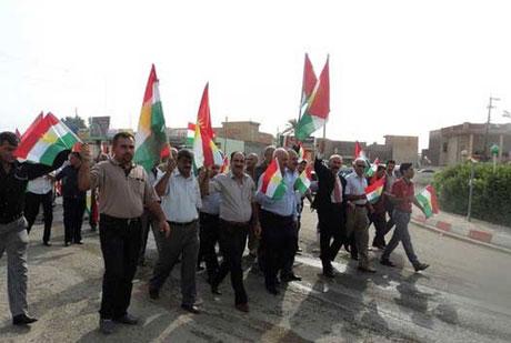 Kürdistan bayrağı için binler sokakta galerisi resim 2