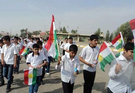 Kürdistan bayrağı için binler sokakta galerisi resim 20