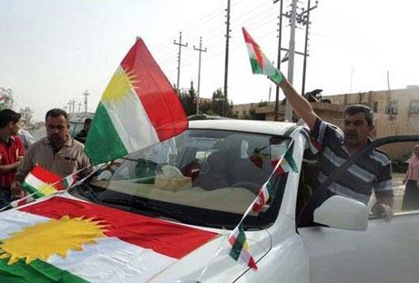 Kürdistan bayrağı için binler sokakta galerisi resim 21