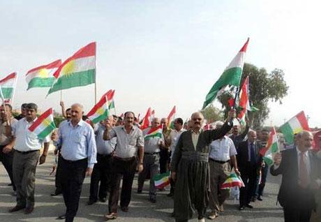 Kürdistan bayrağı için binler sokakta galerisi resim 25