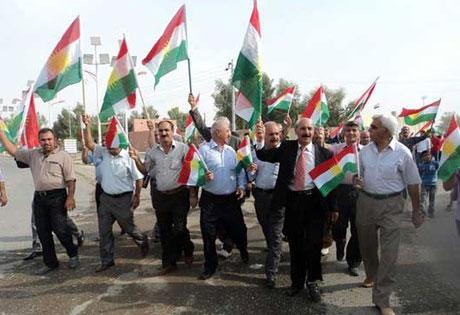 Kürdistan bayrağı için binler sokakta galerisi resim 29