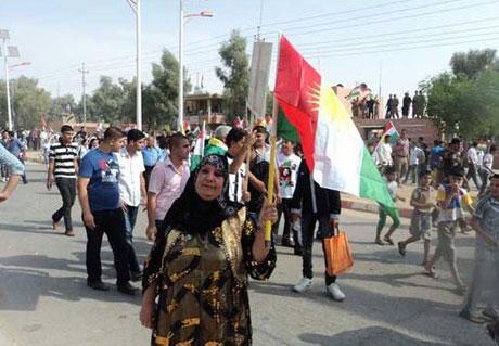 Kürdistan bayrağı için binler sokakta galerisi resim 3