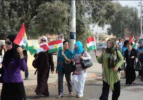Kürdistan bayrağı için binler sokakta galerisi resim 4