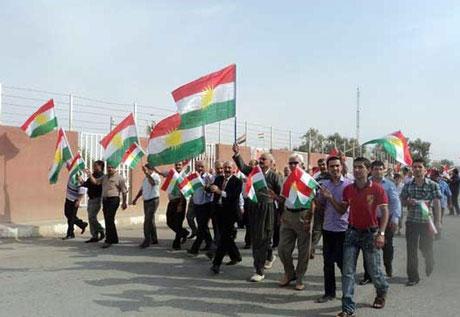 Kürdistan bayrağı için binler sokakta galerisi resim 5