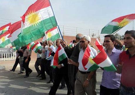 Kürdistan bayrağı için binler sokakta galerisi resim 6