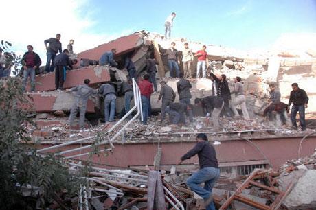 Van'da şiddetli deprem galerisi resim 50