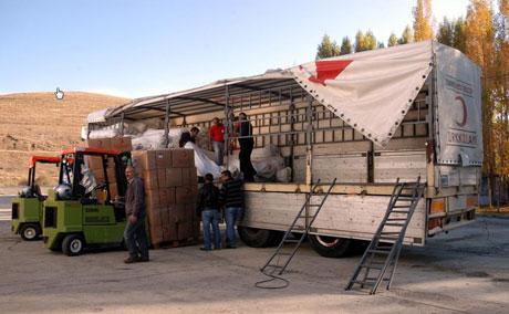 Van'da şiddetli deprem galerisi resim 70