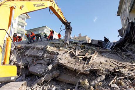 Van'da şiddetli deprem galerisi resim 78