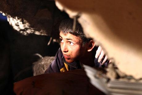 Van'da şiddetli deprem galerisi resim 81