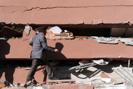 Van'da şiddetli deprem galerisi resim 9