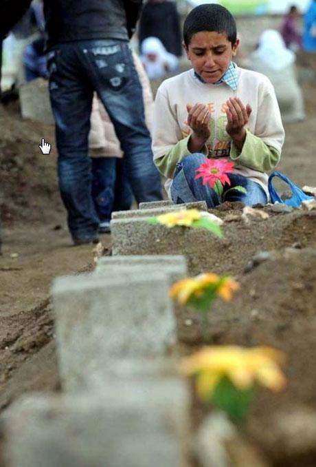 Erciş Mezarlığı'nda bayram! galerisi resim 17