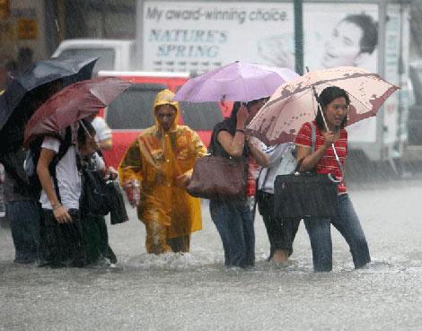Filipinlerdeki Sel Felaketi galerisi resim 3
