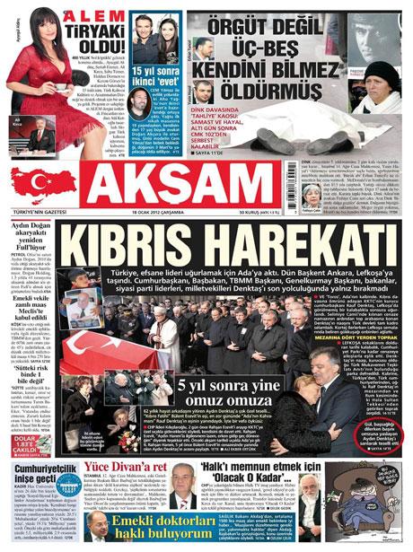 Manşetlerde Hrant Dink kararına tepki var galerisi resim 1