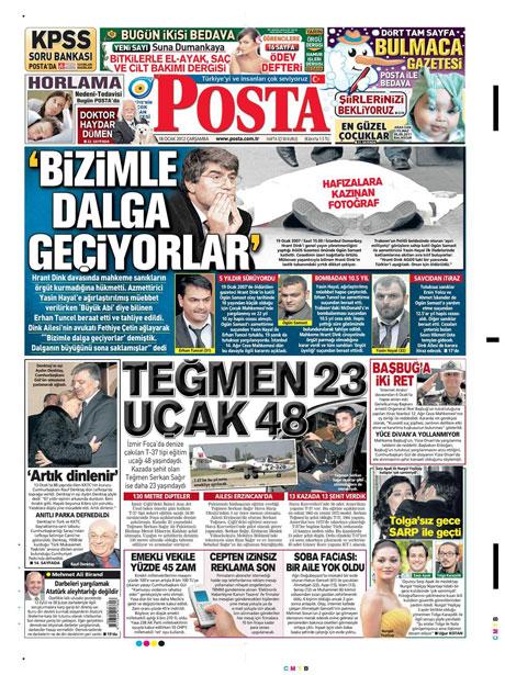 Manşetlerde Hrant Dink kararına tepki var galerisi resim 11