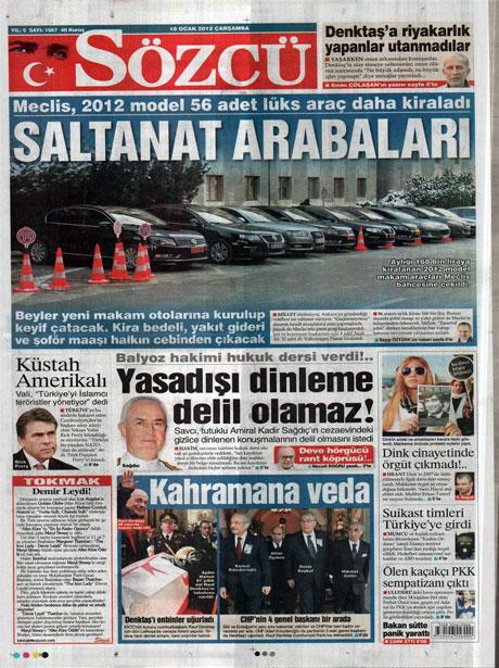 Manşetlerde Hrant Dink kararına tepki var galerisi resim 14