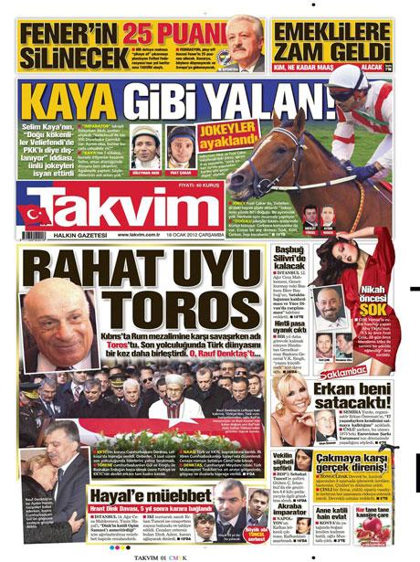 Manşetlerde Hrant Dink kararına tepki var galerisi resim 16